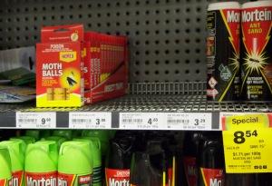 No Antrid - Supermarket shelves