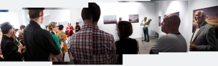 Maurice Ortega opens the QCP Exhibition - November 30, 2013