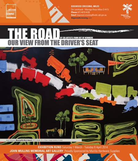 'The Road: from the driver's seat' Poster